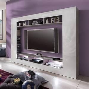 Tv Wand Weiß Hochglanz : hochglanz weiss tv wand preisvergleiche erfahrungsberichte und kauf bei nextag ~ Indierocktalk.com Haus und Dekorationen