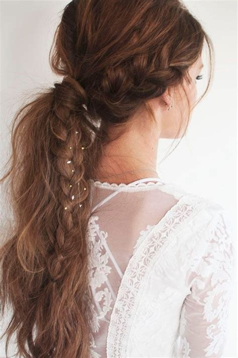 Braided Ponytail Hairstyles For by 22 Great Ponytail Hairstyles For Pretty Designs