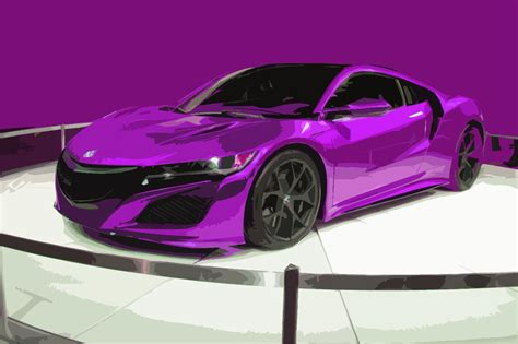new acura nsx supercar is super electric and super expensive