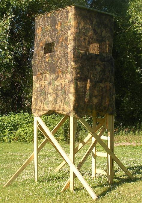 Free Deer Stand Building Plans  Blinds, Ladder & Platform
