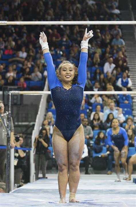 ucla gymnastics defeats alabama   daily bruin