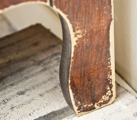 how to apply laminate to wood quick tip tuesday the difference between veneer laminate furniture salvaged inspirations