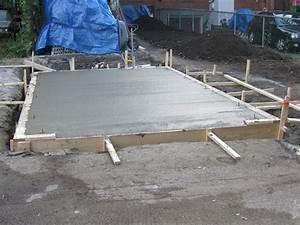 Temps De Sechage Dalle Beton : coffrage dalle beton combien de temps ~ Premium-room.com Idées de Décoration