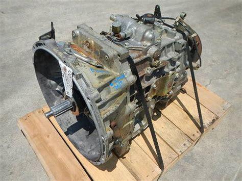 199904 Mitsubishi Fuso Fh 6speed Manual Transmission