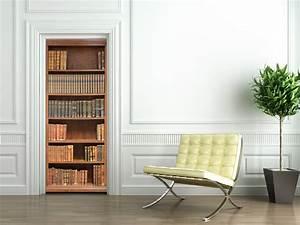 Bibliothèque Design Pas Cher : stickers porte biblioth que pas cher ~ Teatrodelosmanantiales.com Idées de Décoration