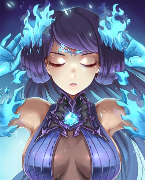 Xenoblade Chronicles 2 Brighid By Meowyin On Deviantart