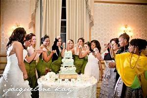 new orleans wedding tradition cake charm pull at the With new orleans wedding traditions