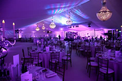 Marquee Chandeliers by Marquee Lighting Hire Key Structures Ltd