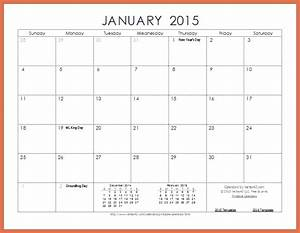 printable monthly calendar 2015 bio example With 2015 calendar by month template