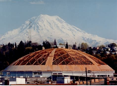 cupola structure working wonders with wood the tacoma dome