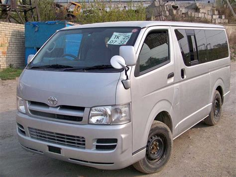 toyota for sale 2005 toyota hiace for sale 2500cc diesel manual for sale
