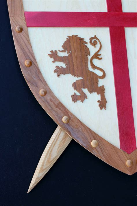 sword  shield woodworking plans forest street designs