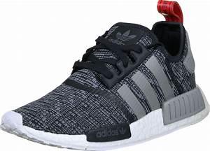 Adidas NMD R1 Schuhe Grau Meliert Schwarz