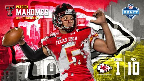 patrick mahomes is wearing red dress and black helmet with ...
