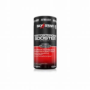 Six Star Testosterone Booster  Caplets  60 Ea By Six Star