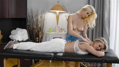 Blondes In Sexy Threesome Nude Masturbation And Oral Sex