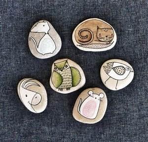 Steine Bemalen Katze : steine bemalen setzen sie ihre kreativit t ins spiel ~ Watch28wear.com Haus und Dekorationen
