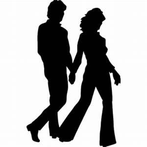 Silhouettes Of People Walking - ClipArt Best