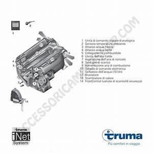 Stufa    Boiler Truma Combi 4  E  Con Cp Plus A Gas E Frost