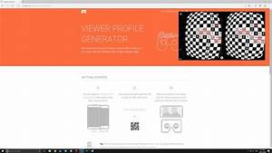 Cardboard Qr Code : how to calibrate google cardboard vr headset with a custom qr profile youtube ~ Eleganceandgraceweddings.com Haus und Dekorationen