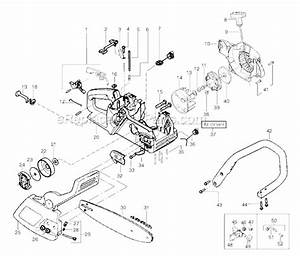 Poulan 1950 Parts List And Diagram
