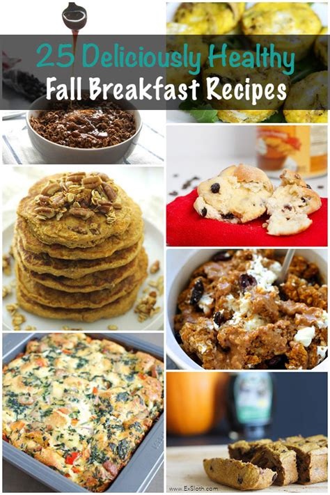 fall breakfast ideas 25 deliciously healthy breakfasts to enjoy this fall diary of an exsloth