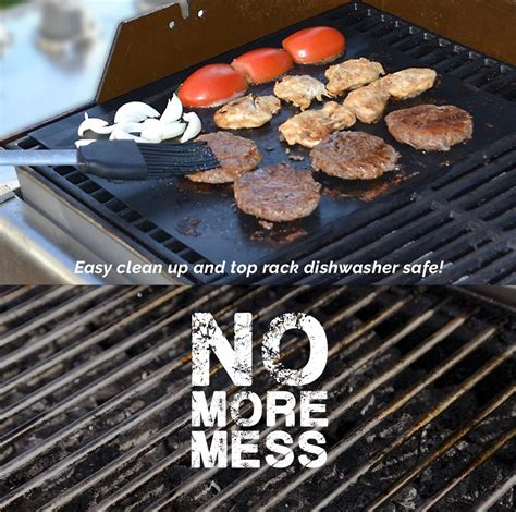 Grill Cooking Mats - bbq grill mat non stick grilling 4 packs aspectek