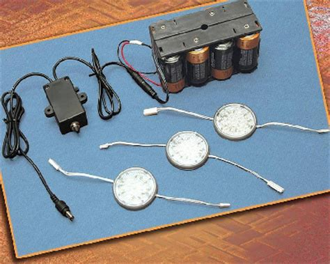 battery powered light with timer outwater introduces its battery operated led wafer puck lighting system