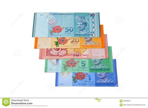 ringgit malaysia stock of calculator uang 58598252