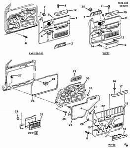 1990 Chevrolet K2500 Armrest  Armrest  Armrest  Frt S  D