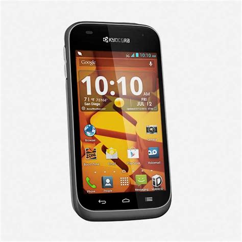 cheap boost phones new kyocera hydro edge boost mobile waterproof android