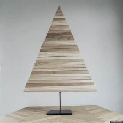 Tree Christmas Trees Diy Wooden Wood Creative