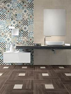 Le carrelage imitation bois en 46 photos inspirantes for Salle de bain design avec décoration mariage antillais