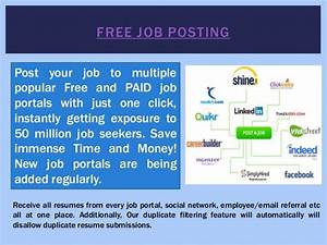 free job posting sites for employers With post resume to multiple job boards
