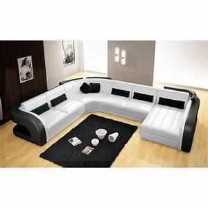 Canapé Panoramique Convertible Pas Cher : salon angle panoramique ~ Teatrodelosmanantiales.com Idées de Décoration