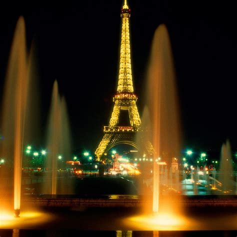 Paris Paris Eiffel Tower at Night