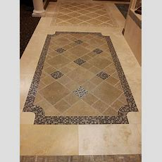 Tile Floor Design Idea For The Entry Way  Entryway