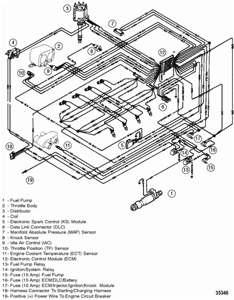 Mercruiser Mag Mpi Alpha Bravo Wiring Harness Efi