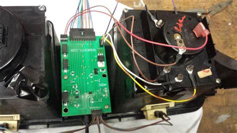 dash pod printed circuit board replacement kit analog