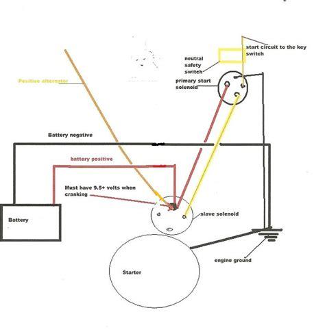 mercruiser solenoid wiring diagram 40 wiring