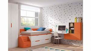 chambre moderne ado avec lit gigogne glicerio so nuit With tapis moderne avec canapé lit gigogne but