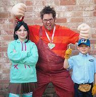 Wreck-It Ralph Family Halloween Costume
