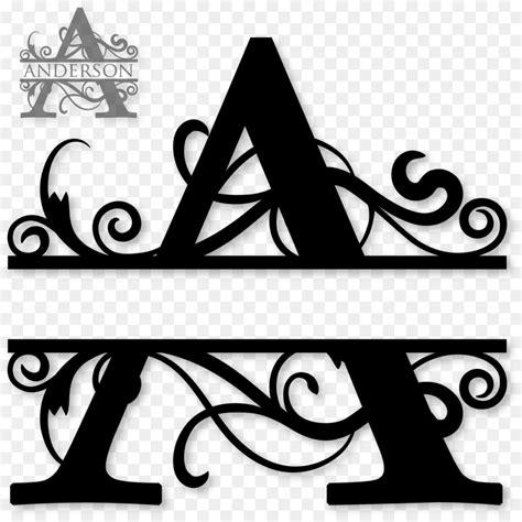 monogram letters clip art   cliparts  images  clipground