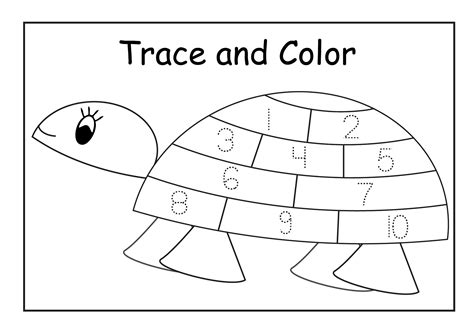 traceable numbers   worksheets  print activity shelter