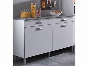 Buffet De Cuisine Conforama : cuisine chez conforama prix 4 meuble bas 120 cm meuble ~ Dailycaller-alerts.com Idées de Décoration