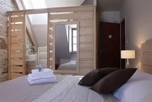 Petite Salle De Bain Ouverte Sur Chambre : chambre avec salle de bain zo01 jornalagora ~ Melissatoandfro.com Idées de Décoration