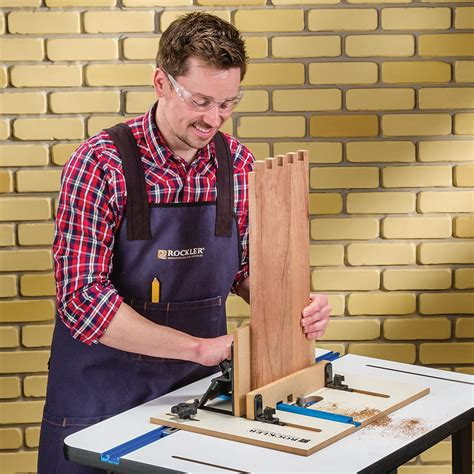 rockler xl router table box joint jig rockler