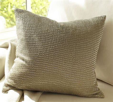 Rustic Luxe Beaded Ombre Pillow Cover Pottery Barn rustic luxe beaded ombre pillow cover pottery barn