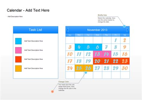 calendar examples month plan