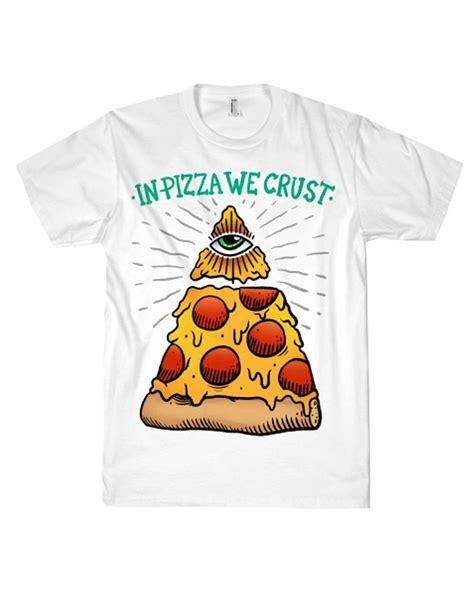 tshirt kaos fast food fast food illuminati apparel statement